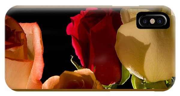 Light And Roses IPhone Case