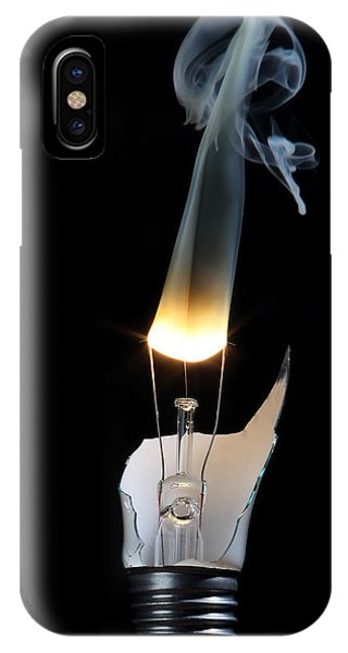Light And Smoke IPhone Case