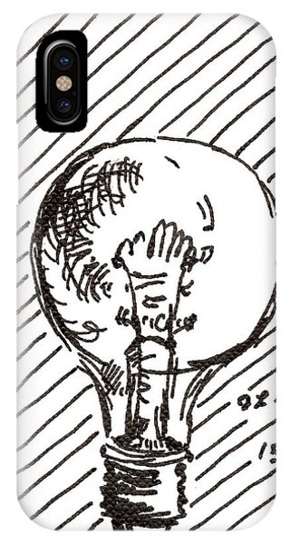 Light Bulb 1 2015 - Aceo IPhone Case