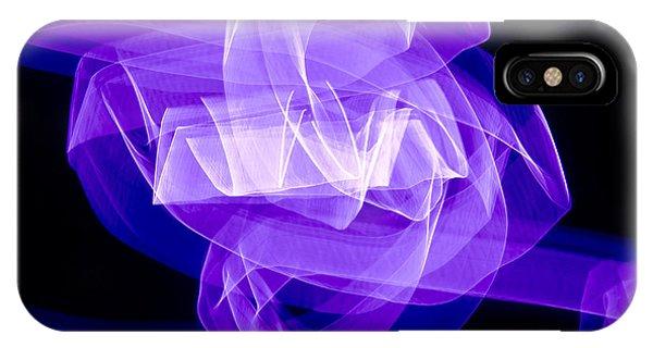 Light Bulb Purple IPhone Case