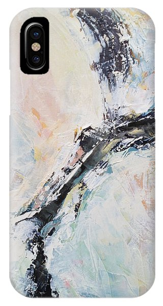 Abstract Expression iPhone Case - Light Eradicates Darkness by Nathan Rhoads