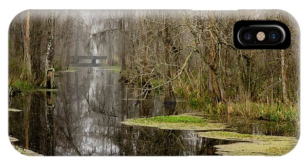 Light Fog On The Swamp IPhone Case