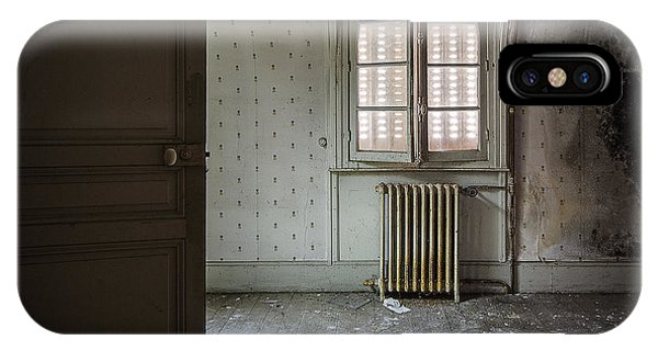 Light From Another Room - Urban Exploration IPhone Case