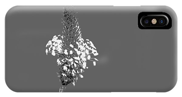 Light Grey Plantain IPhone Case