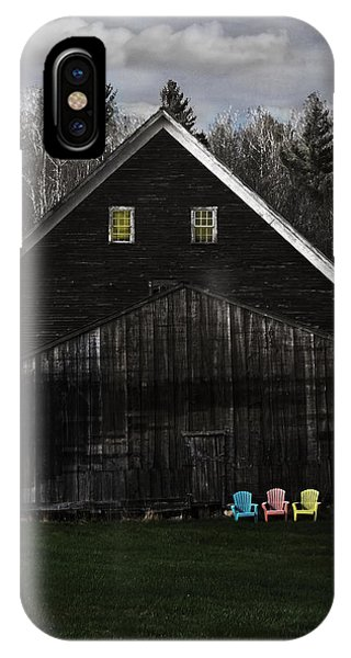 Light In The Barn Attic IPhone Case