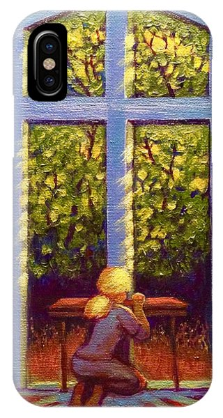 IPhone Case featuring the painting Light Lit by Jeanette Jarmon