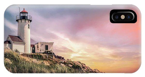 New England Coast iPhone Case - Light My Way by Evelina Kremsdorf