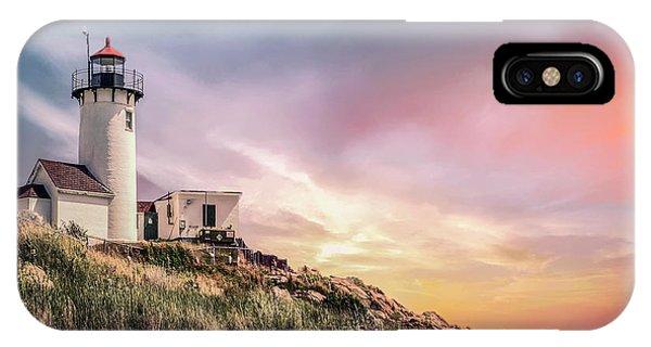 Scenic New England iPhone Case - Light My Way by Evelina Kremsdorf