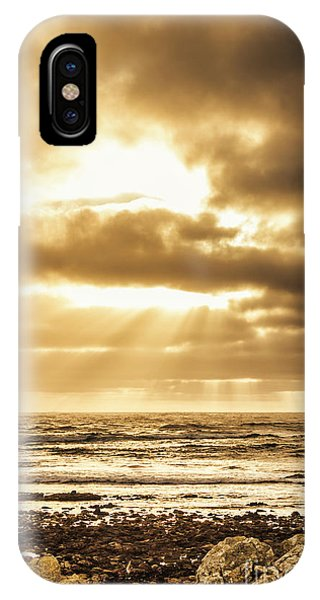 Sun Rays iPhone Case - Light Of Dusk by Jorgo Photography - Wall Art Gallery