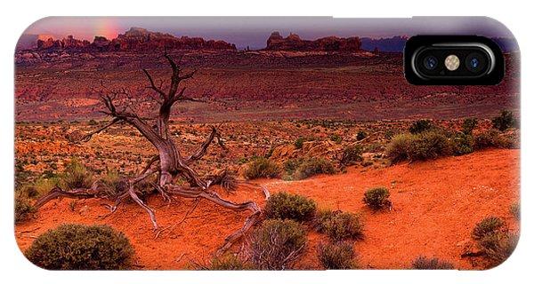 Light Of The Desert IPhone Case