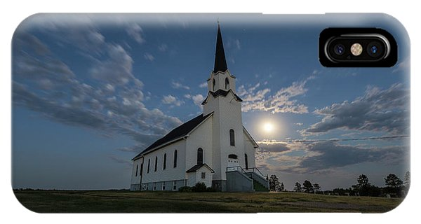 Lutheran iPhone Case - Light Of The Moon by Aaron J Groen