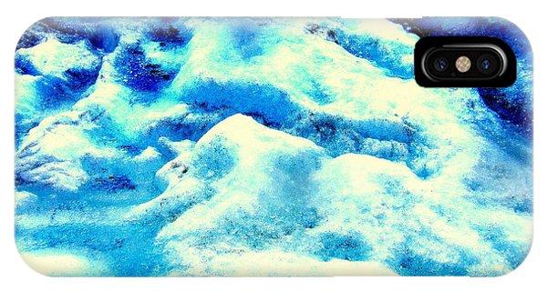 Light On Glacier IPhone Case