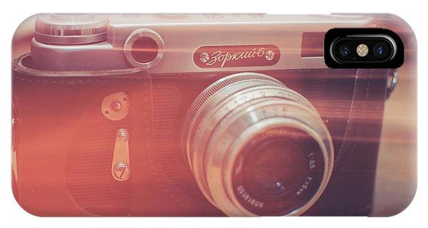 Vintage Camera iPhone Case - Light by Ondrej Supitar