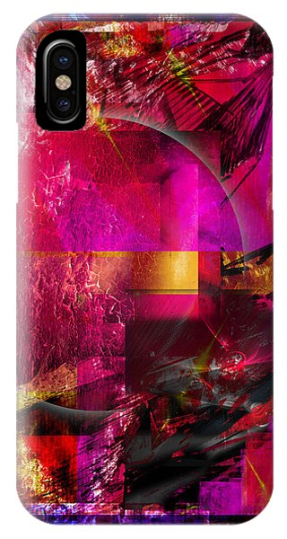 Light Particles IPhone Case