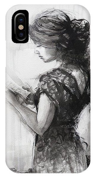 Figurative iPhone Case - Light Reading  by Steve Henderson