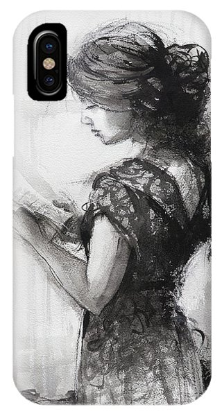 Reading iPhone Case - Light Reading  by Steve Henderson