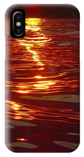 Light Stream - Lake Geneva Wisconsin IPhone Case