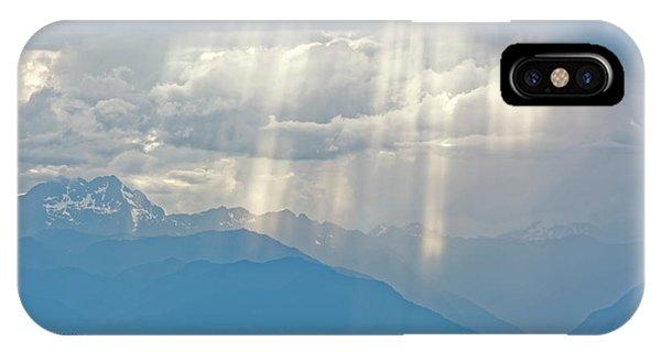 Light Through Clouds IPhone Case