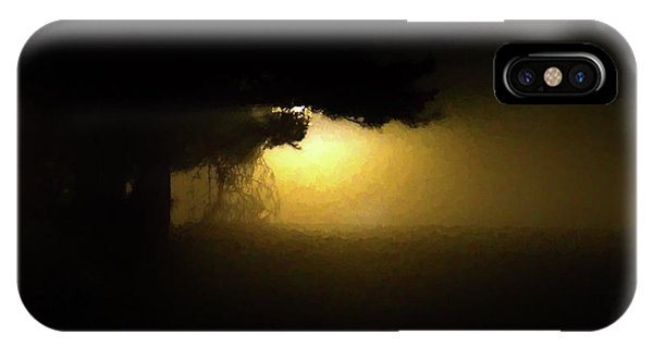 Light Through The Tree IPhone Case