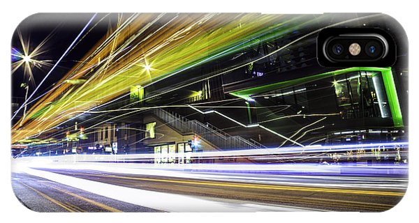 Exposure iPhone Case - Light Trails 1 by Nicklas Gustafsson