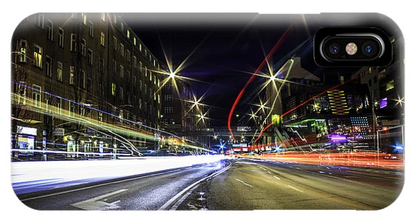 Long Exposure iPhone Case - Light Trails 2 by Nicklas Gustafsson