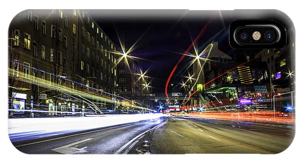 Exposure iPhone Case - Light Trails 2 by Nicklas Gustafsson