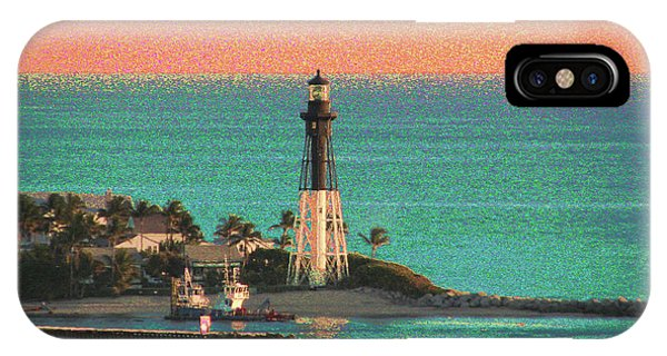 Lighthouse 1006 IPhone Case