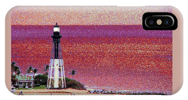 Lighthouse 1014 IPhone Case