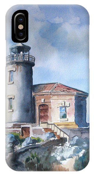 iPhone Case - Lighthouse At Bandon by Richard Zunkel