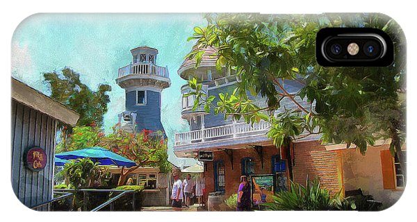 Lighthouse At Seaport Village IPhone Case
