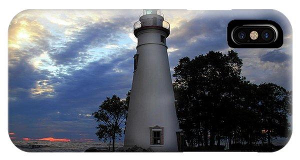 Lighthouse At Sunrise IPhone Case
