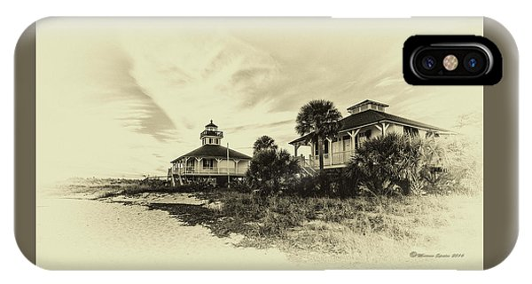 Porches iPhone Case - Lighthouse Boca Grande by Marvin Spates
