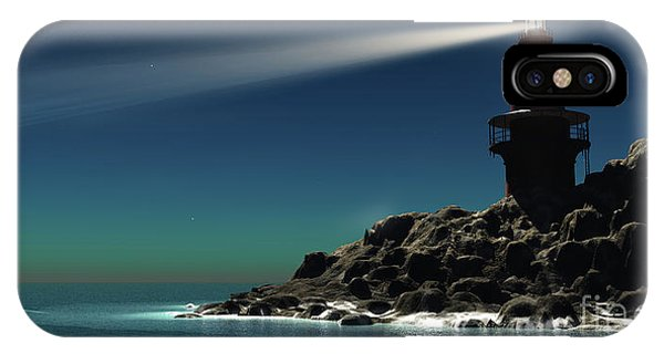 Beam iPhone Case - Lighthouse by Corey Ford