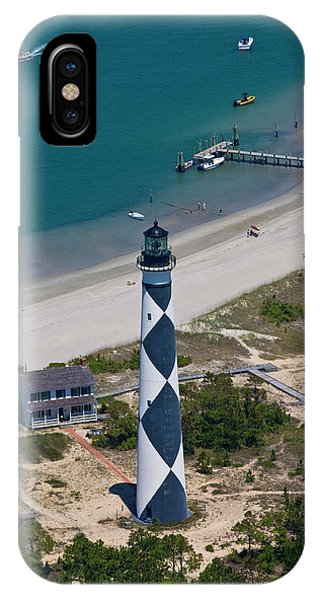Lighthouse From Above IPhone Case
