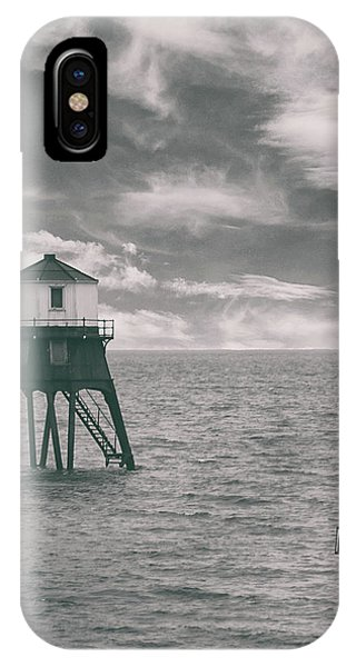 Navigation iPhone Case - Lighthouse Harwich by Martin Newman