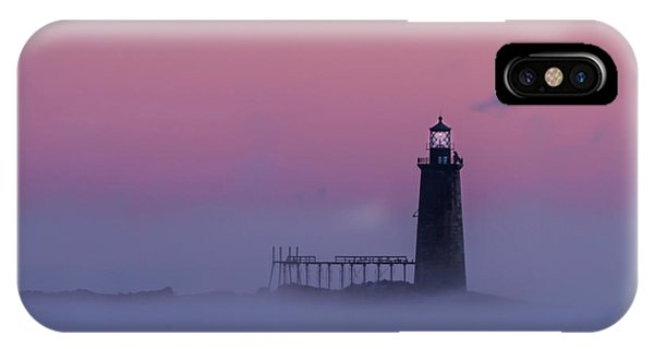 Lighthouse In The Clouds IPhone Case