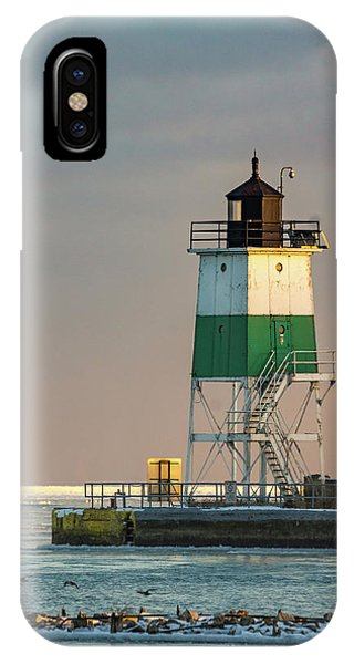 Lighthouse In The Sunset IPhone Case