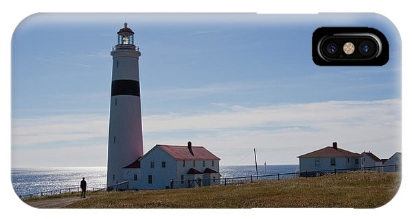 Lighthouse Labrador IPhone Case