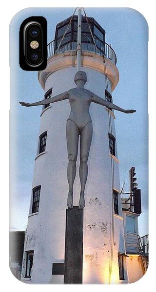 Lighthouse Lady IPhone Case