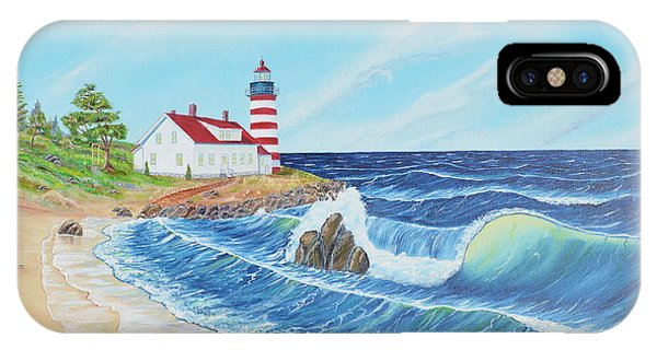Lighthouse Life IPhone Case