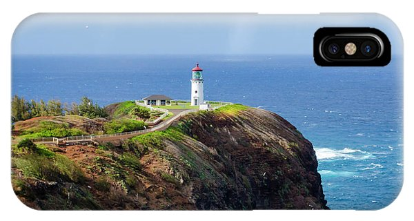 Lighthouse On A Cliff IPhone Case