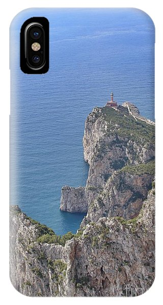 Lighthouse On The Cliff IPhone Case
