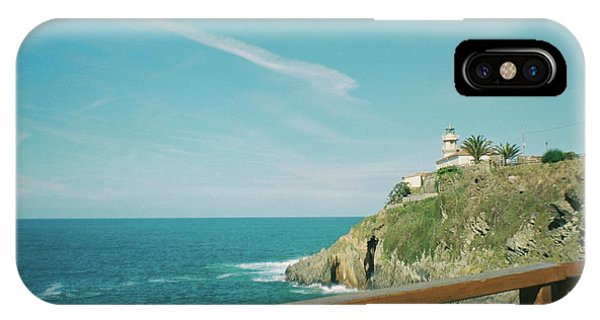Lighthouse Over The Ocean IPhone Case