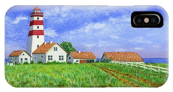 Lighthouse Pasture IPhone Case