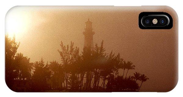 Lighthouse Point Sunrise IPhone Case