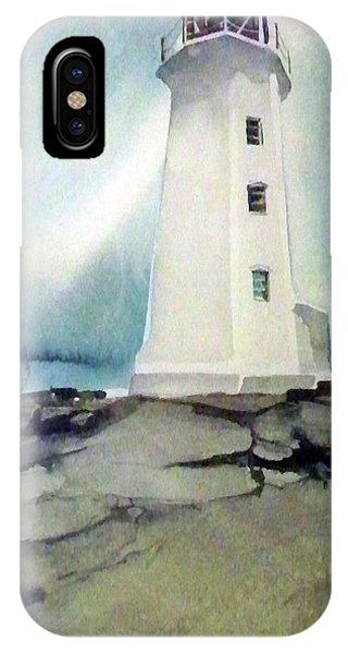 Lighthouse Rock IPhone Case