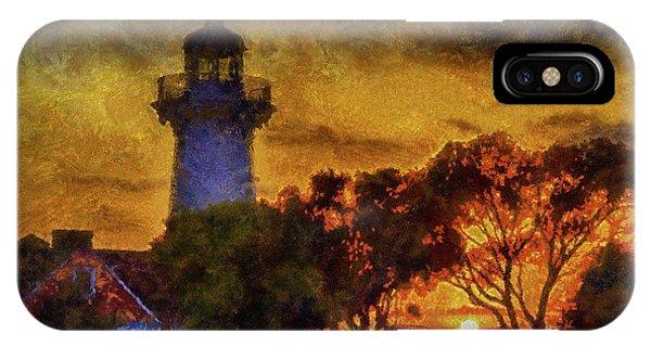 Lighthouse Sunset IPhone Case