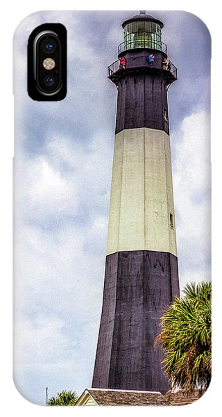 Lighthouse - Tybee Island, Georgia IPhone Case
