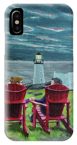 Lighthouse Lovers IPhone Case