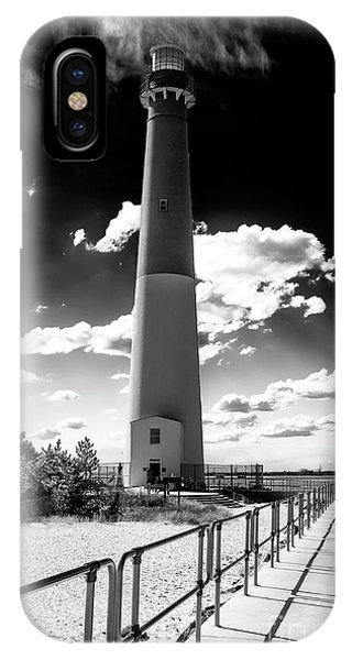 Lighthouse Walk Long Beach Island IPhone Case